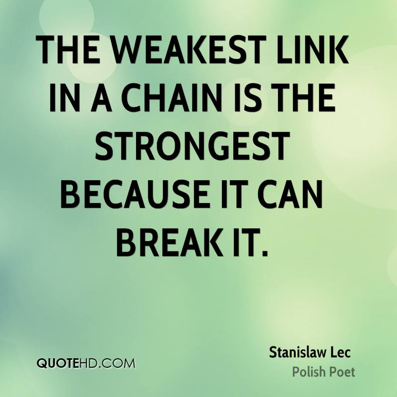 Chain Link Quotes QuotesGram QuotesGram