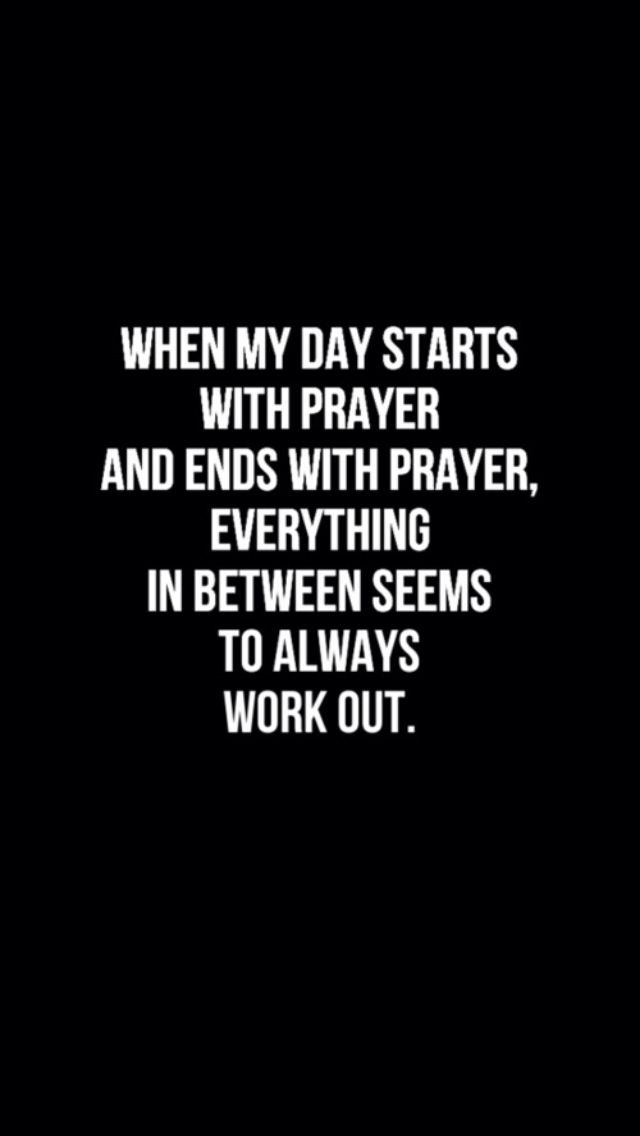 how to start and finish a prayer
