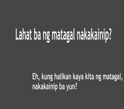 Tagalog Funny Quotes About Love. QuotesGram
