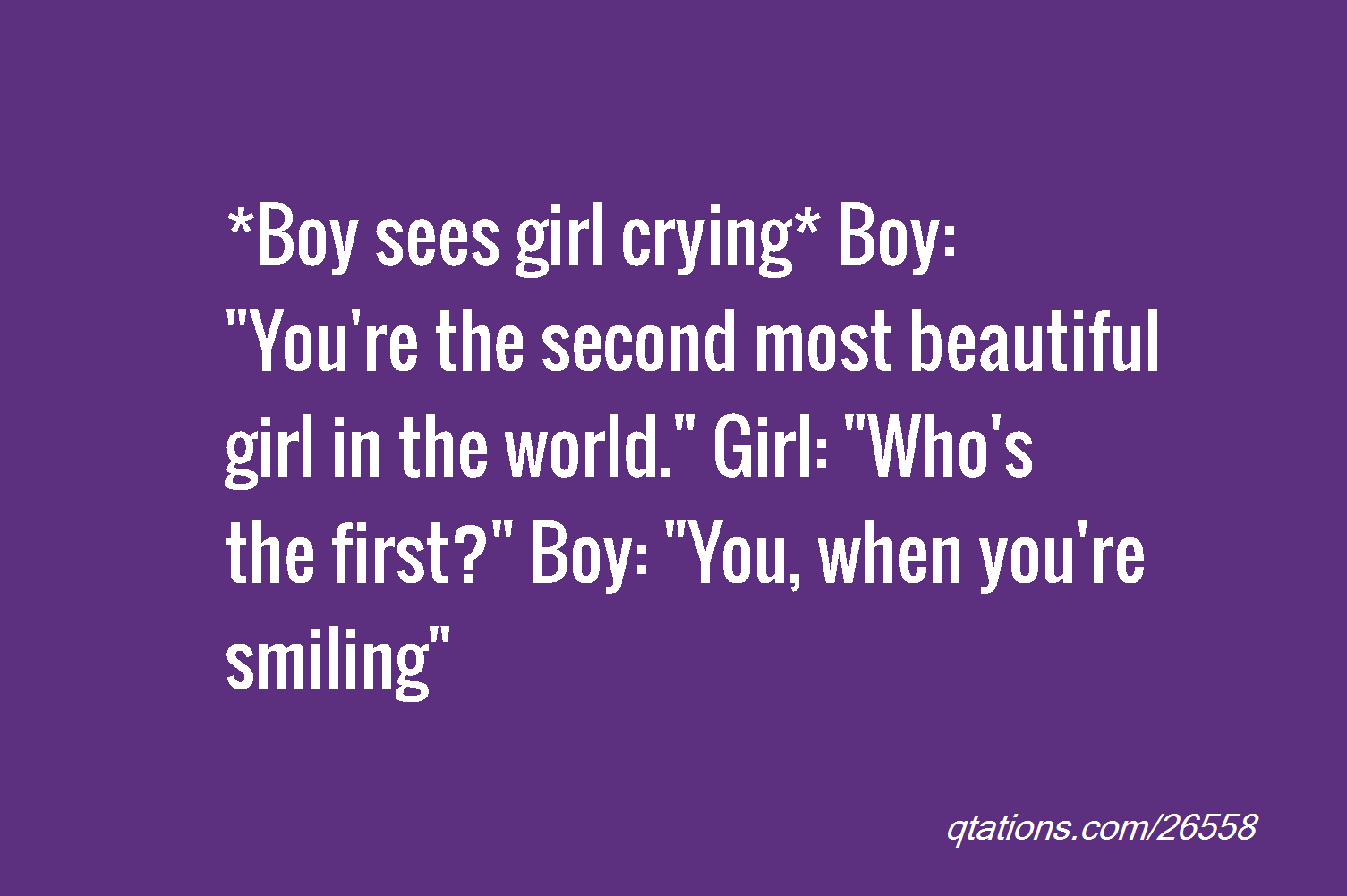 you are the most beautiful woman in the world quotes