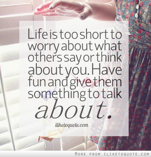 Quotes Thinking About You: What Others Think Of You Quotes. QuotesGram