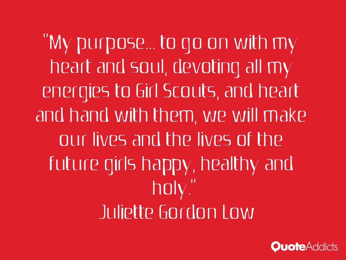 Juliette Low Quotes About Service. QuotesGram