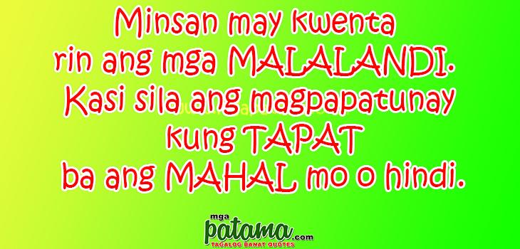 Patama Quotes Sa Malalandi. QuotesGram