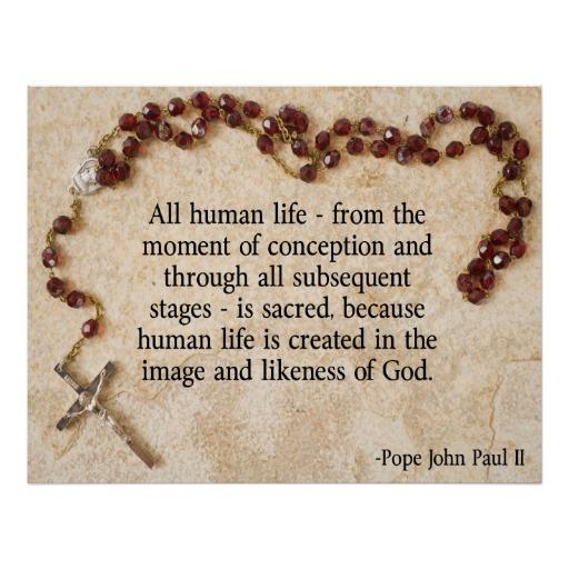 John Paul Ii Quotes Pro Life Quotesgram