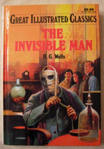 a focus on the main character in the novel invisible man