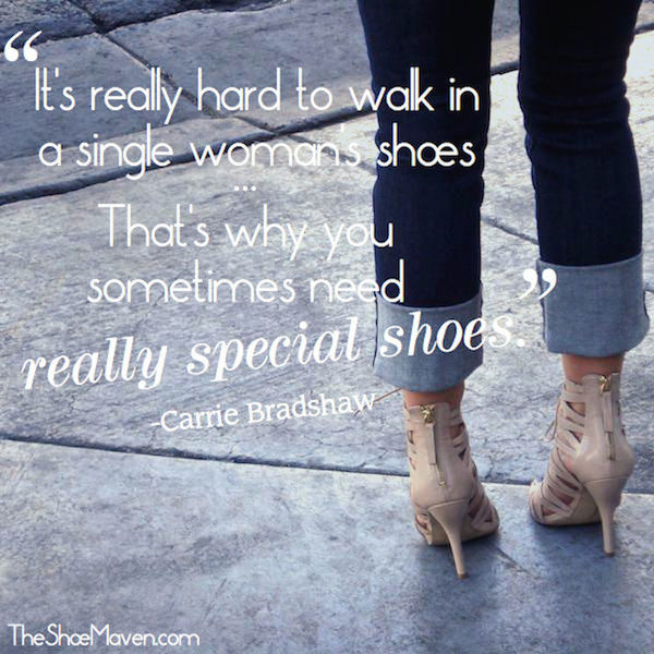 Quotes About Shoes And Friendship: Shoe Quotes Carrie Bradshaw. QuotesGram