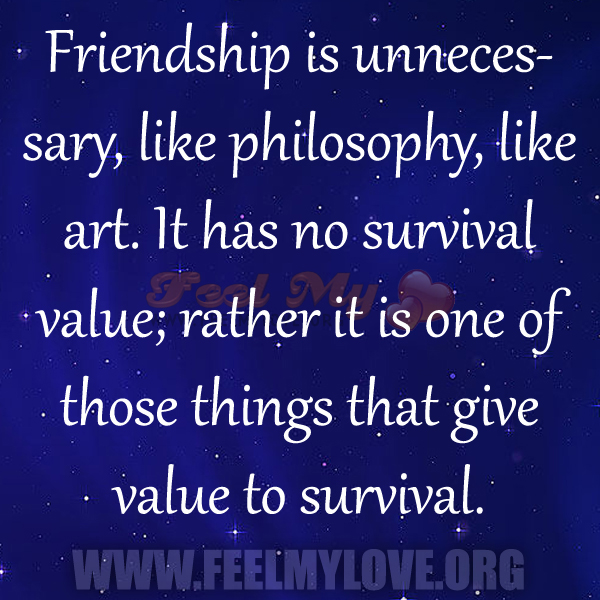 values of friendship This month we are focusing on understanding the importance of friendship friendship involves: caring for each other, sharing ideas, respecting each other, having fun.