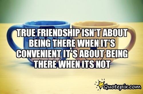 Convenient Friendship Quotes. QuotesGram