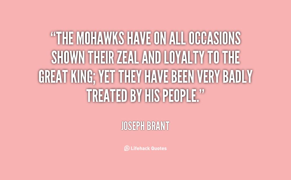 Joseph Brant Famous Quotes Quotesgram