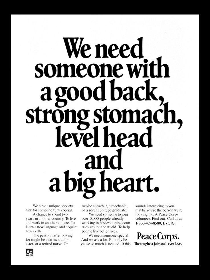 peace corps quotes  quotesgram
