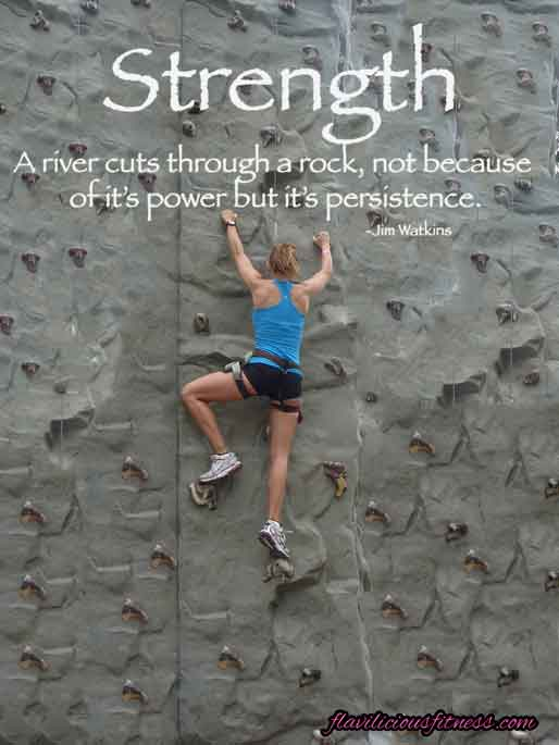 Rock Climbing Motivation Quotes Quotesgram