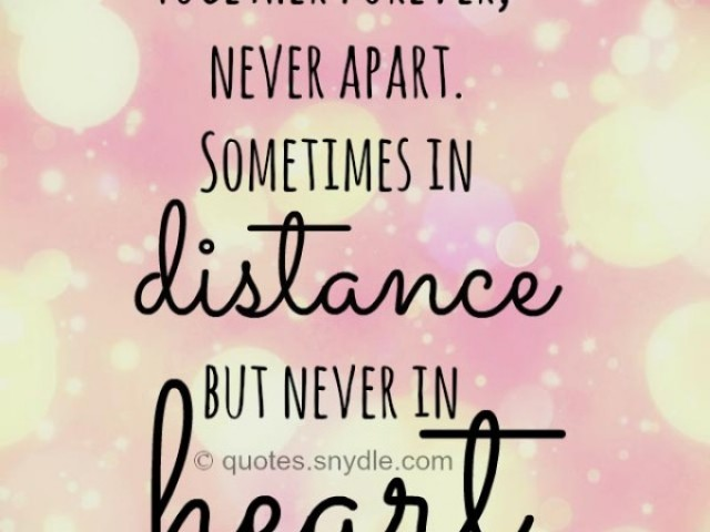 inspirational long distance quotes quotesgram