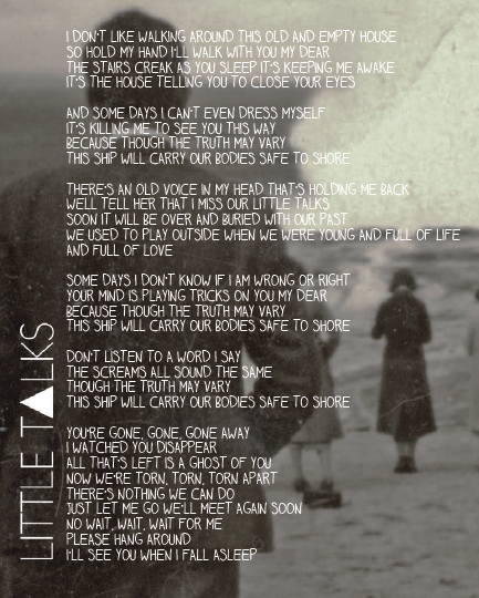 Speak Quotes And Page Numbers: Quotes From Monsters And Men. QuotesGram