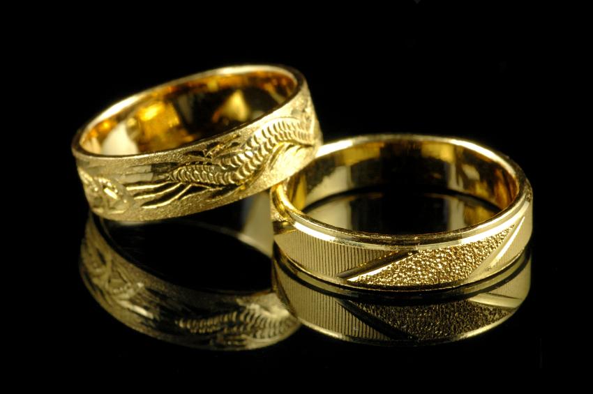 Muslim Wedding Rings Right Hand