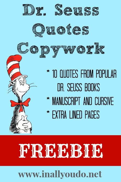 Dr Seuss Work Quotes. QuotesGram