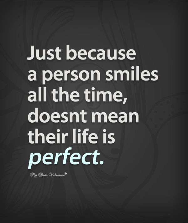I Just Have This Happy Personality And A Sad Soul In One: Just Because Quotes For Her. QuotesGram