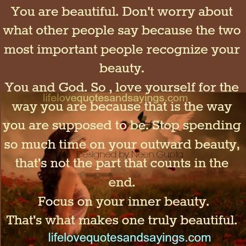 You Are Beautiful Quotes. QuotesGram