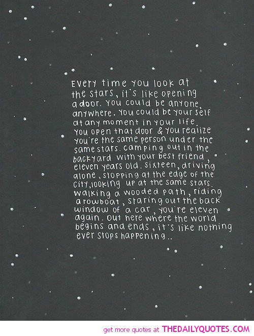 star poems and quotes quotesgram