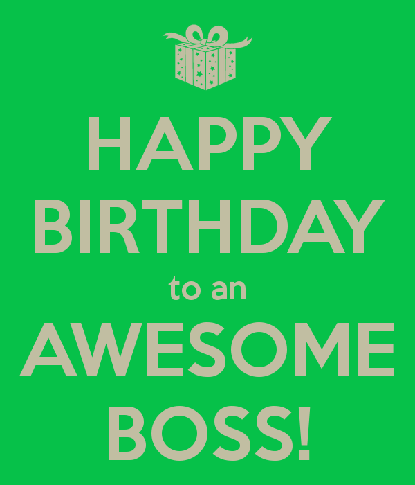 Birthday Quotes Best Boss Ever. QuotesGram