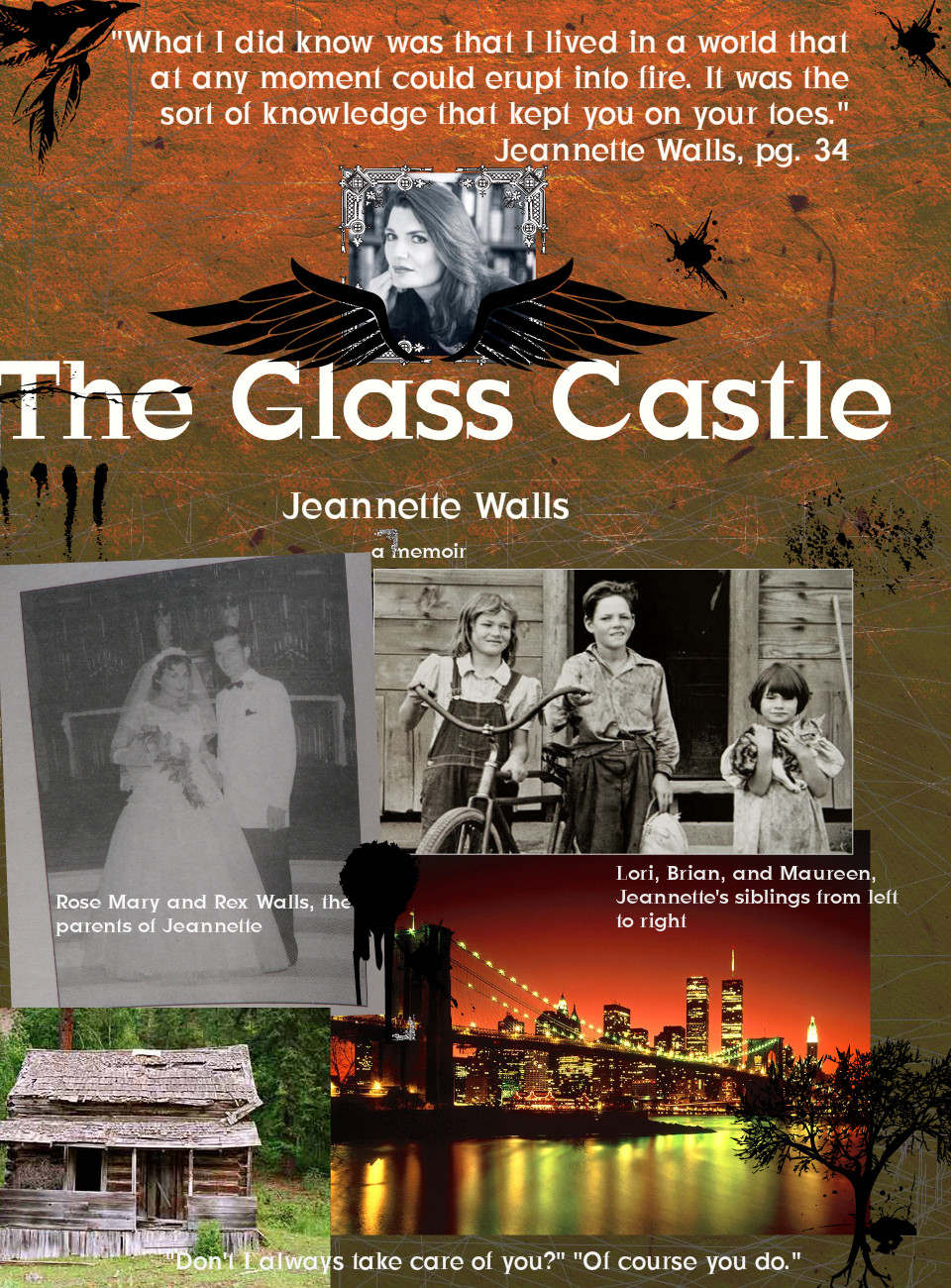 the significance of rex walls in the life of jeannette walls in the glass castle a book by jeannette The glass castle close in the book, the glass castle, jeannette walls is that rex walls as some of the best moments of her life, regardless of rex's obvious.