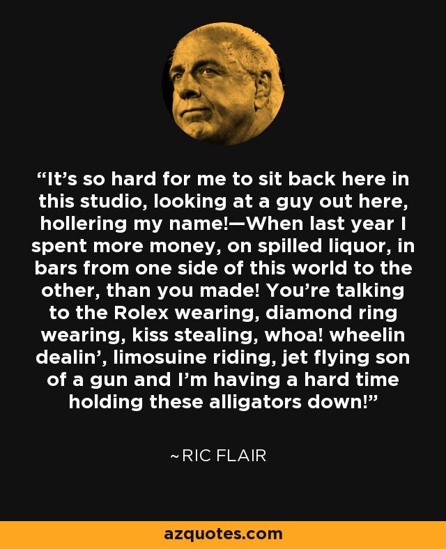 Ric Flair Quotes. QuotesGram