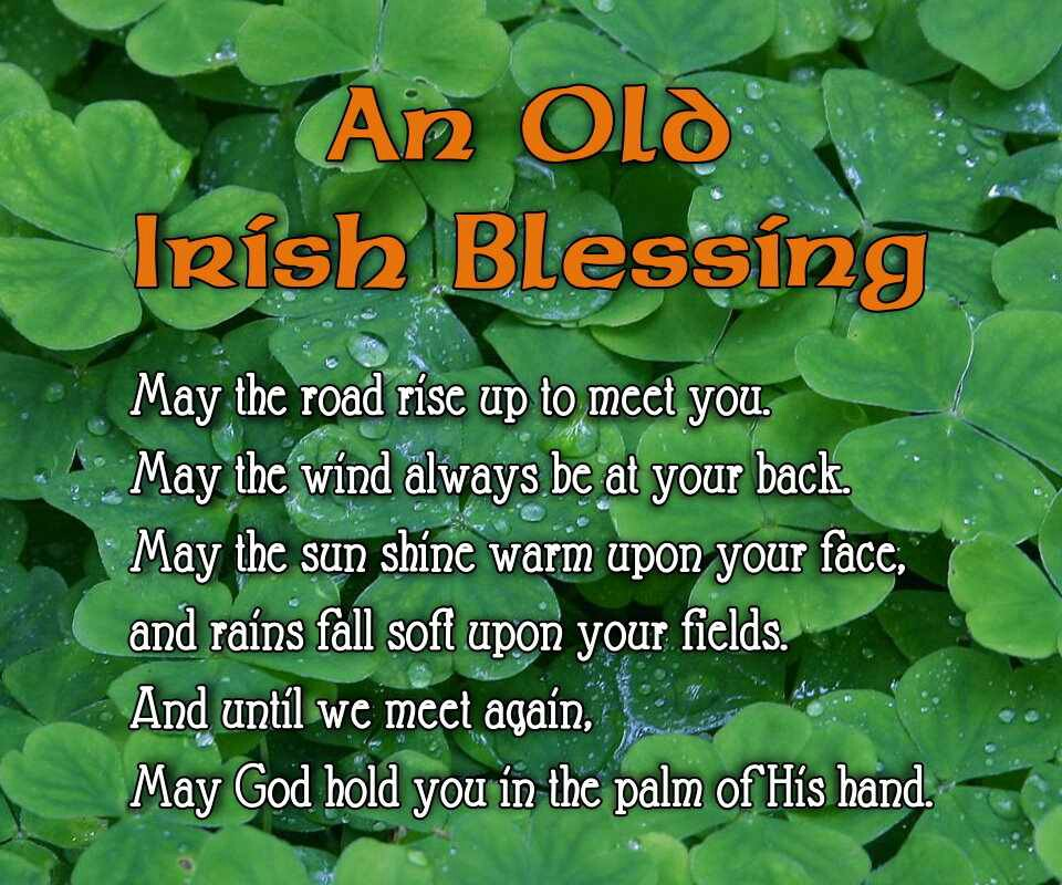 Inspirational Quotes About Positive: Irish Blessings And Quotes. QuotesGram