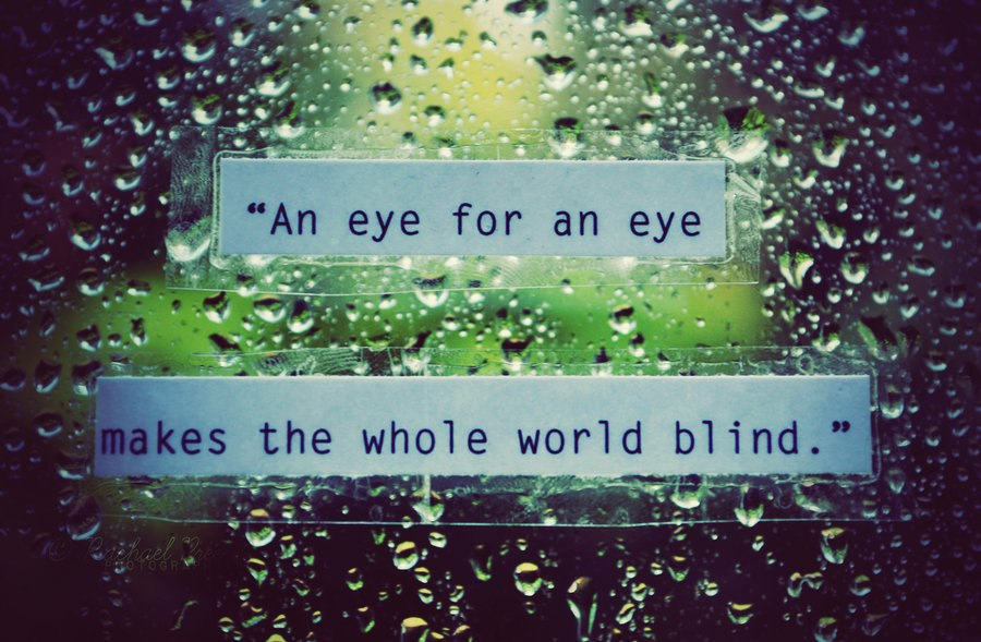 Inspirational Quotes About The Cruel World Quotesgram: Inspirational Quotes About Blindness. QuotesGram
