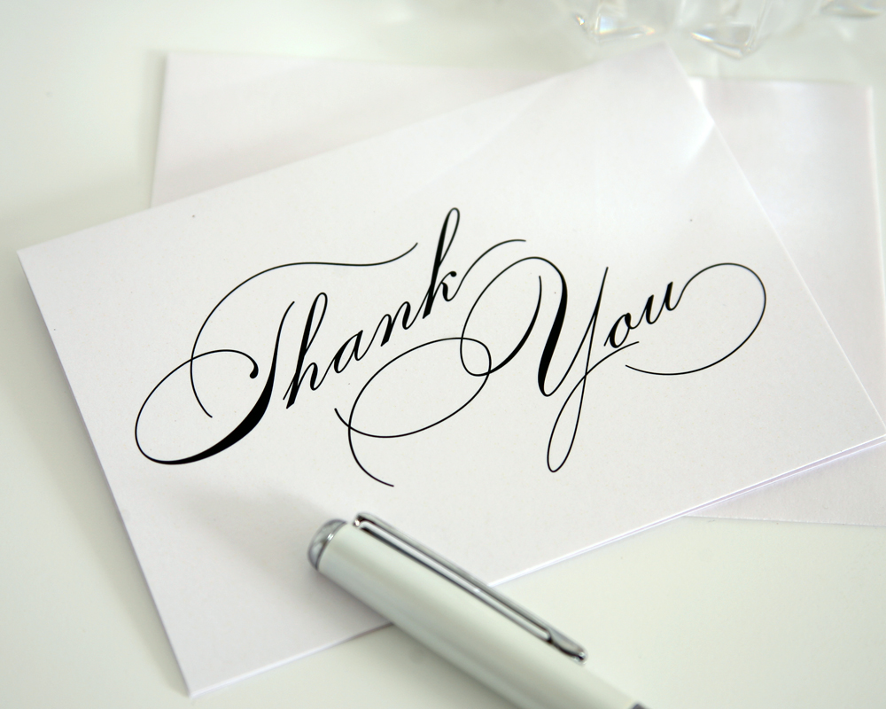 Professional thank you wallpaper