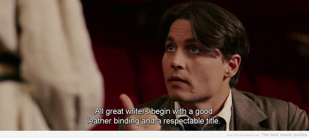 Finding Neverland Quotes Johnny Depp