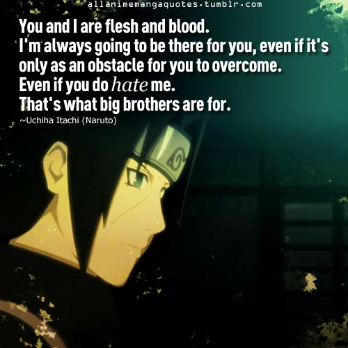 Itachi Uchiha Love Quotes. QuotesGram