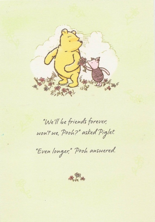 pooh and piglet friendship quotes quotesgram. Black Bedroom Furniture Sets. Home Design Ideas