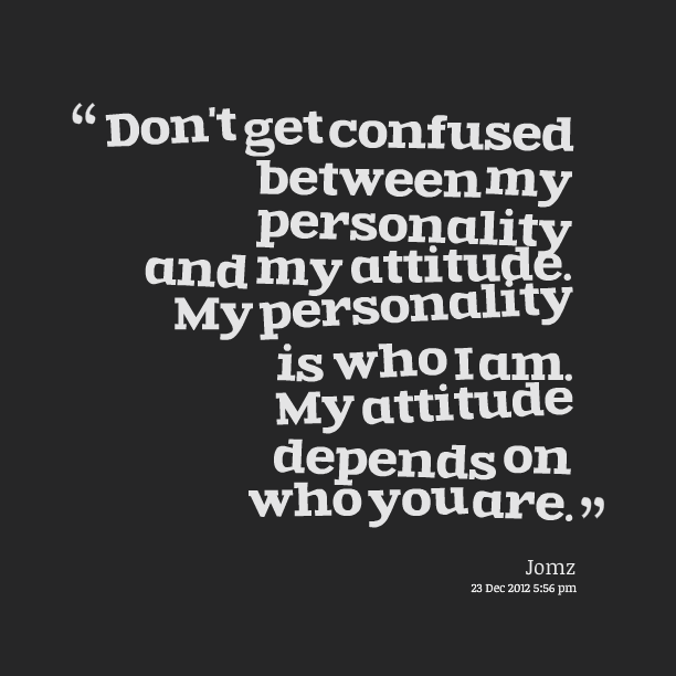 My Attitude Quotes. QuotesGram