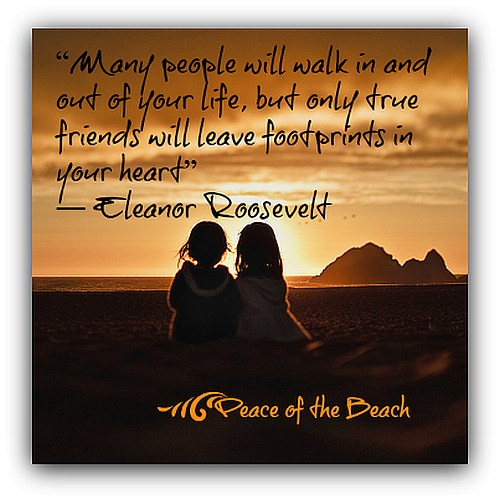 Quotes About Friends Leaving Footprints. QuotesGram