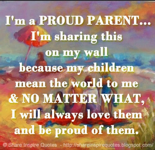 Proud Of Your Son Quotes. QuotesGram