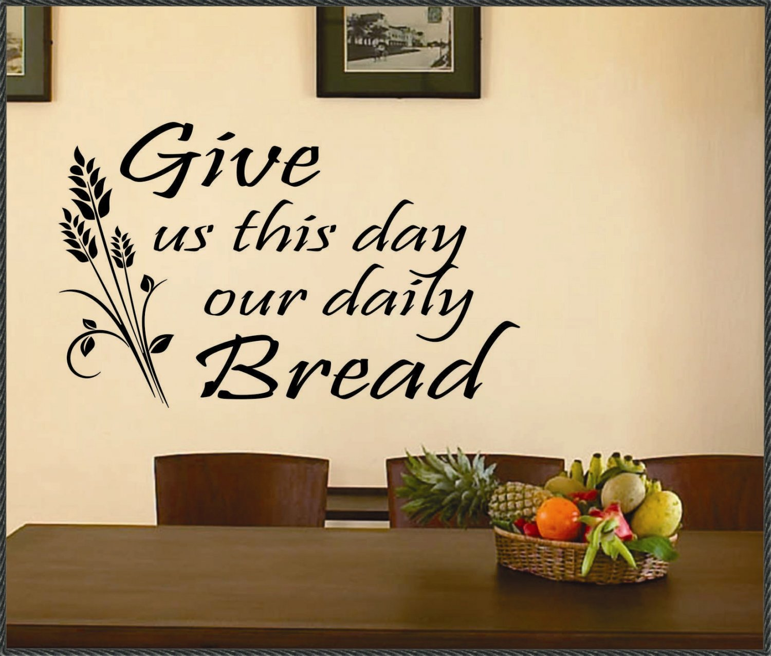 Daily bread quotes quotesgram for Christian wall mural