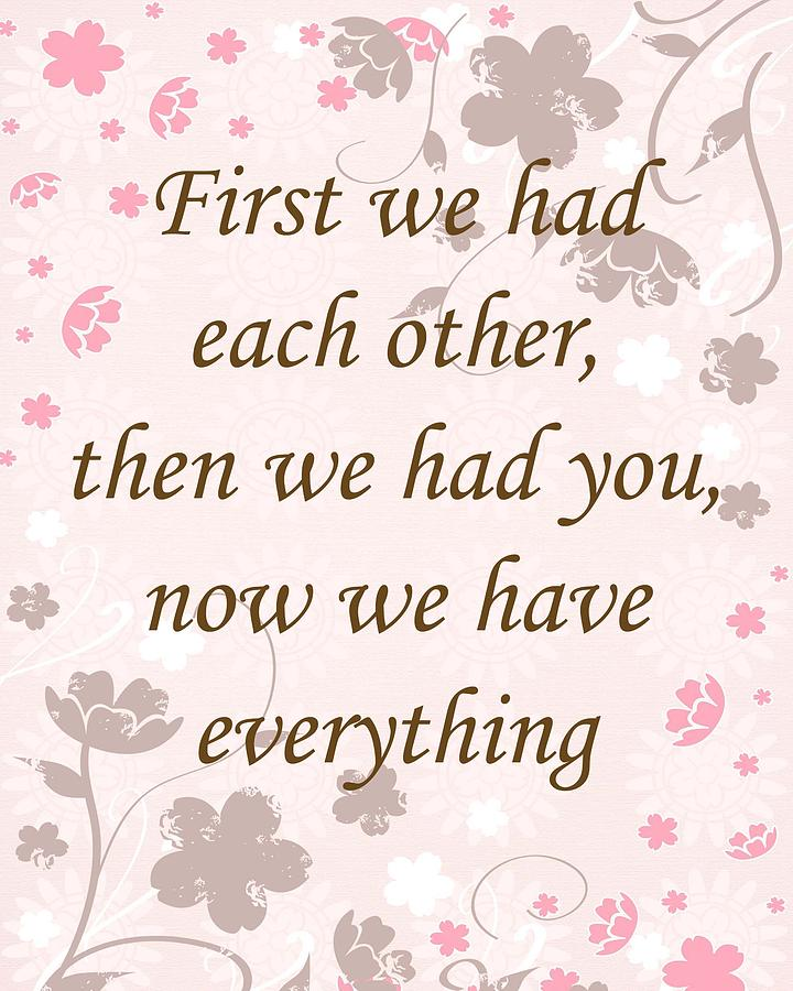 Baby Girl Nursery Quotes Quotesgram