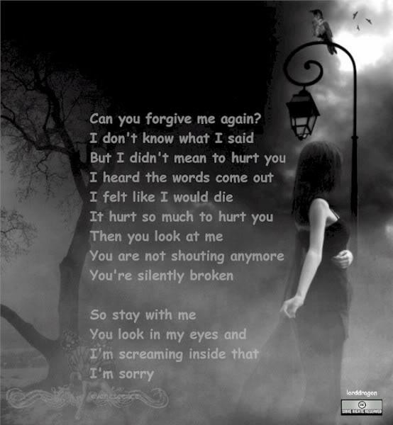 I Am Sorry I Love U Quotes: Forgive Me Quotes. QuotesGram