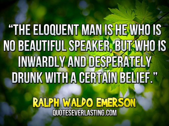 the beliefs and thoughts of ralph waldo emerson Ralph waldo emerson was born on 25 may 1803 in the puritan new england town of boston, massachusetts to ruth née haskins (d1853) and unitarian minister william emerson (d1811) young ralph had a strict but loving upbringing in the household of a minister who died when he was just eight years old.