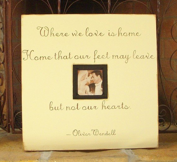 Wooden Picture Frames With Quotes Quotesgram