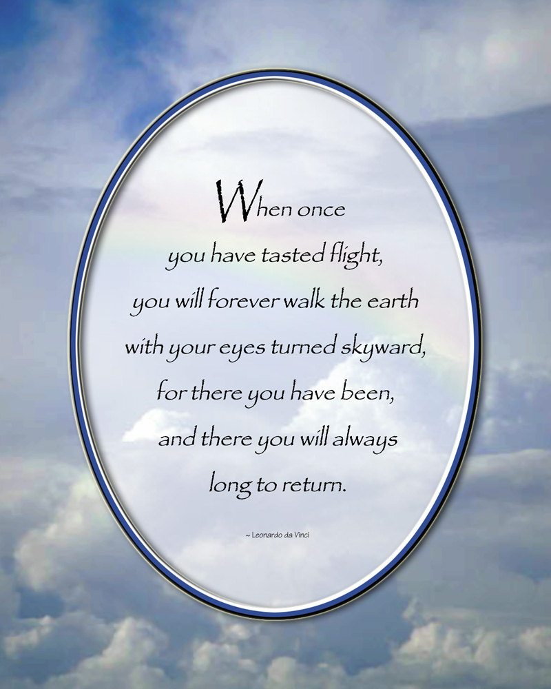 Flying Quotes: Davinci Flying Quotes. QuotesGram