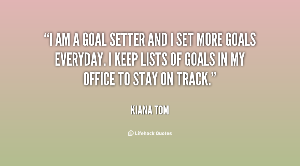quotes about goals and objectives  quotesgram