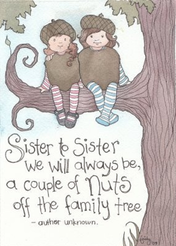 """an analysis of my mothers news to me on being a big sister to twins """"but my sister gets it because we're twins she just called me and she was like, 'are you pregnant' and i said, 'yep, i am' """" breaking the news to her."""