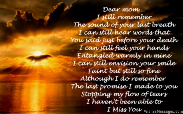 Mom Death Quotes And Sayings: Loss Of Mother Quotes From Daughter. QuotesGram