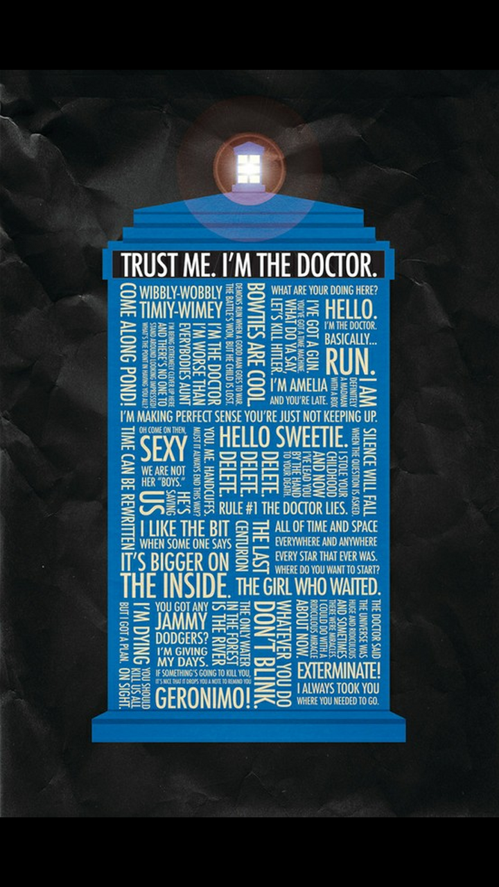 Doctor Who Quotes Wallpaper Quotesgram
