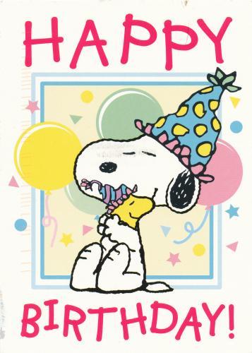 Snoopy Happy Birthday Quotes Quotesgram