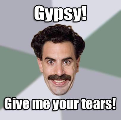Borat Gypsy Meme borat quotes Quotes