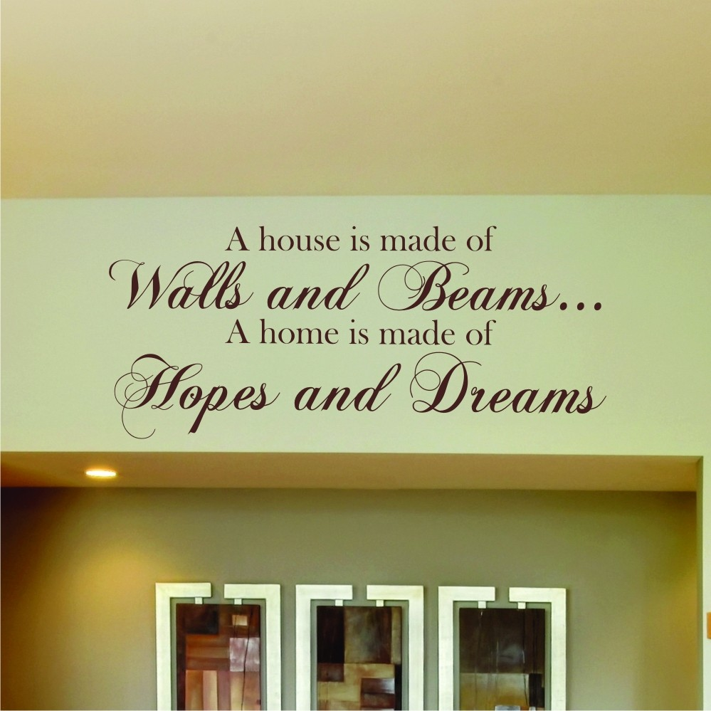 Kitchen vinyl wall quotes quotesgram for Living room quote stickers