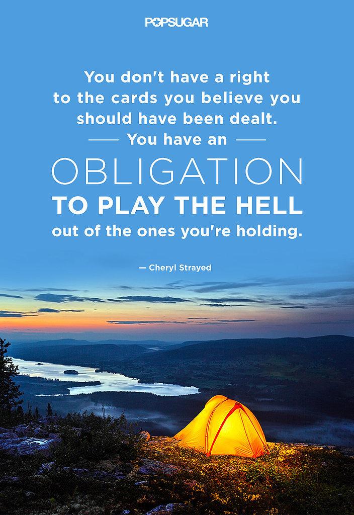 Wild Cheryl Strayed Quotes Quotesgram