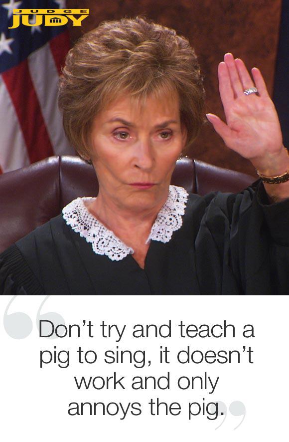 funny judge judy quotes quotesgram