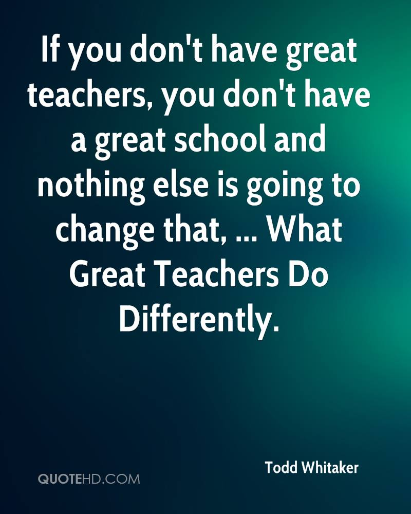 Great Teacher Quotes. QuotesGram